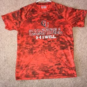 Campbell University Under Armour Shirt Size Small